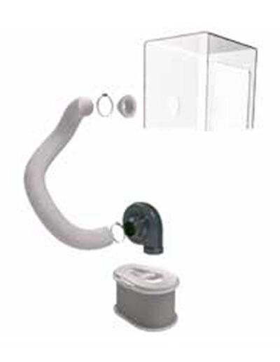 ÅSS - Punktutsug LFK250 friktionsledat med portabelt filter